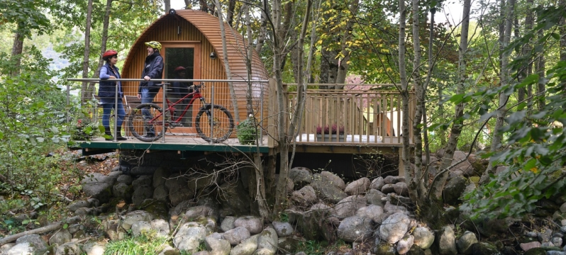 Glamping with Hot Tubs in Lincolnshire